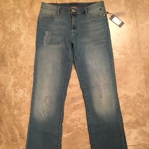 Tommy Hilfiger Greenwich Straight Midrise Jeans 12